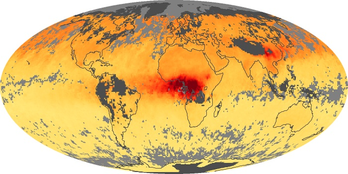 Global Map Carbon Monoxide Image 192