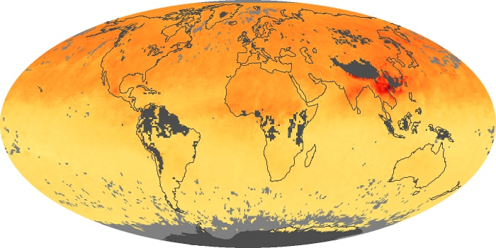 Global Map Carbon Monoxide Image 194