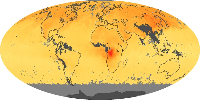 Global Map Carbon Monoxide Image 196