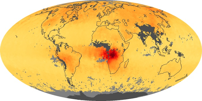 Global Map Carbon Monoxide Image 198