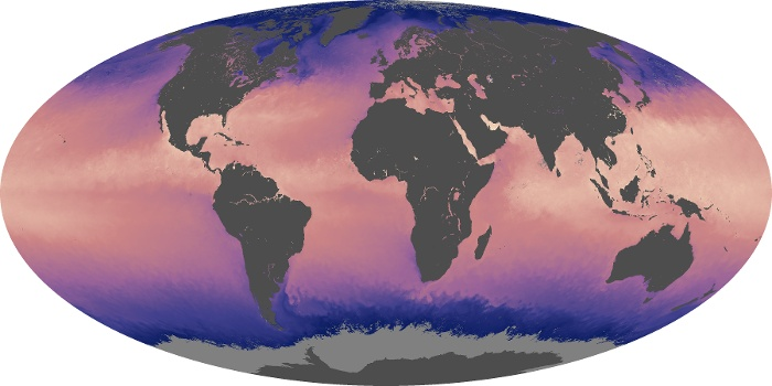 Global Map Sea Surface Temperature Image 13