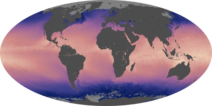 Global Map Sea Surface Temperature Image 18