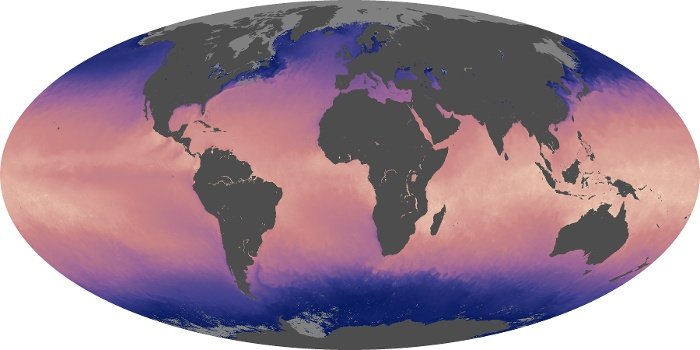 Global Map Sea Surface Temperature Image 19