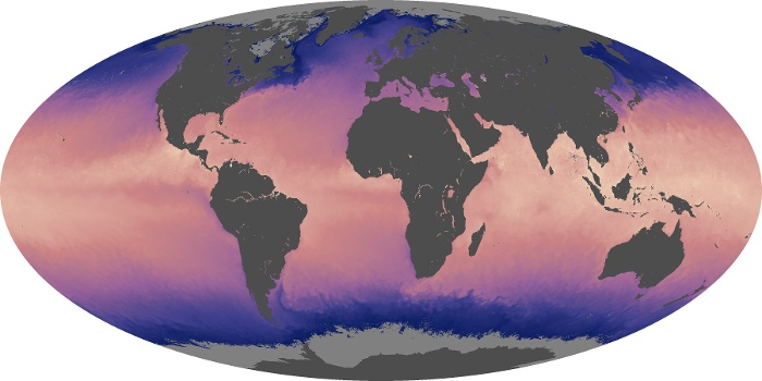 Global Map Sea Surface Temperature Image 23