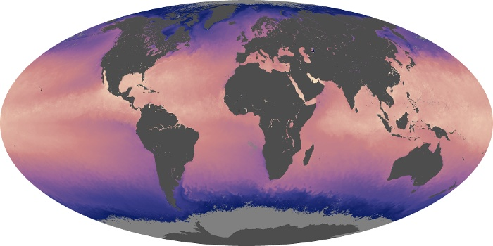 Global Map Sea Surface Temperature Image 26