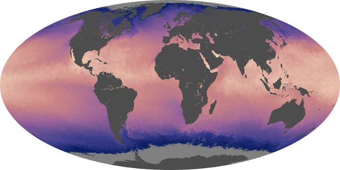 Global Map Sea Surface Temperature Image 27