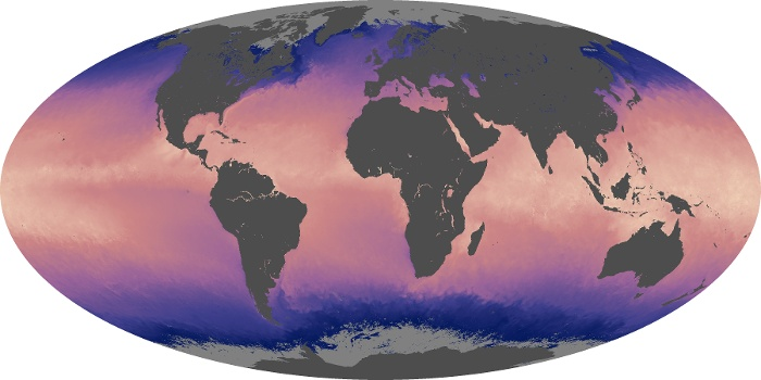 Global Map Sea Surface Temperature Image 29