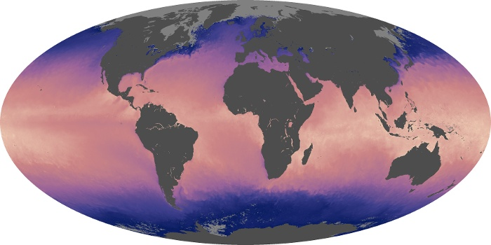 Global Map Sea Surface Temperature Image 31