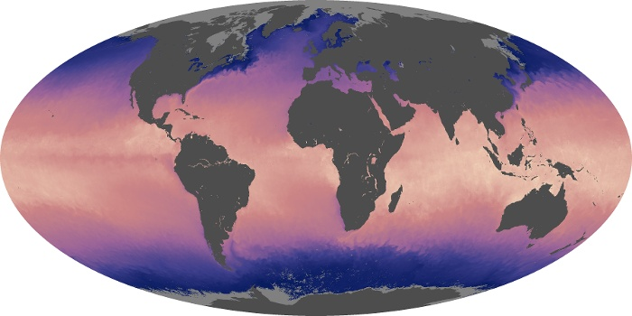 Global Map Sea Surface Temperature Image 33