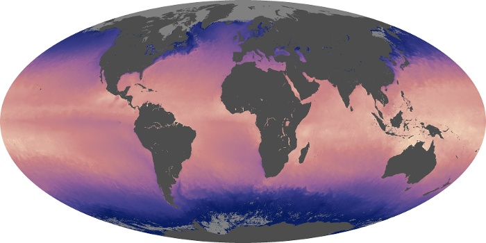 Global Map Sea Surface Temperature Image 42