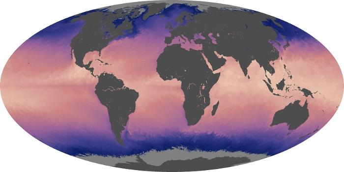 Global Map Sea Surface Temperature Image 47