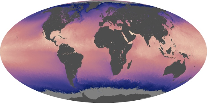 Global Map Sea Surface Temperature Image 51