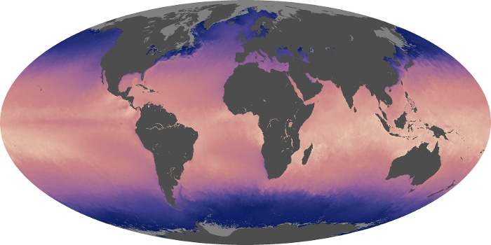 Global Map Sea Surface Temperature Image 56