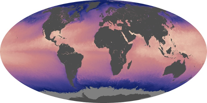 Global Map Sea Surface Temperature Image 61