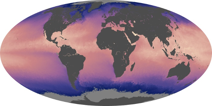 Global Map Sea Surface Temperature Image 63