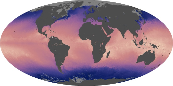 Global Map Sea Surface Temperature Image 79