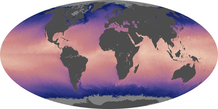 Global Map Sea Surface Temperature Image 35