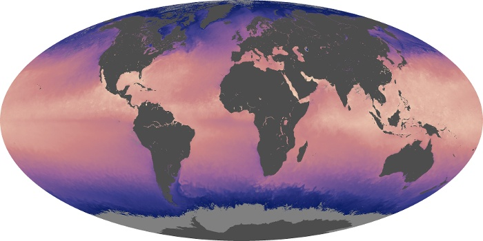 Global Map Sea Surface Temperature Image 85
