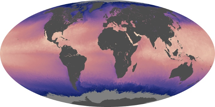 Global Map Sea Surface Temperature Image 86