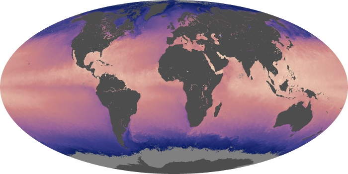 Global Map Sea Surface Temperature Image 97