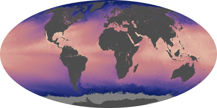 Global Map Sea Surface Temperature Image 109