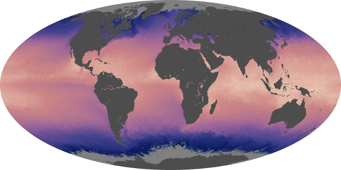 Global Map Sea Surface Temperature Image 113