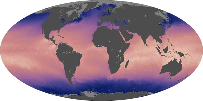Global Map Sea Surface Temperature Image 68