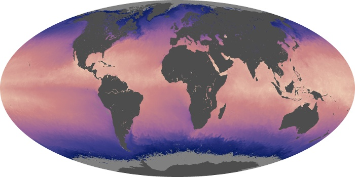 Global Map Sea Surface Temperature Image 88