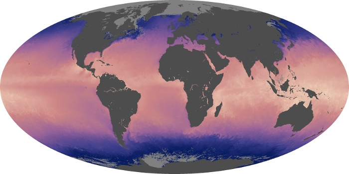 Global Map Sea Surface Temperature Image 138