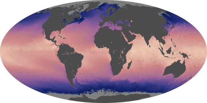 Global Map Sea Surface Temperature Image 106