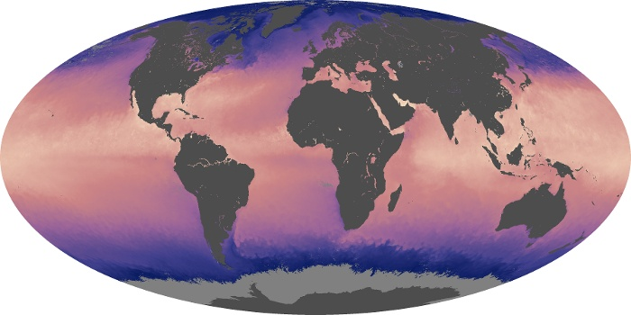 Global Map Sea Surface Temperature Image 157