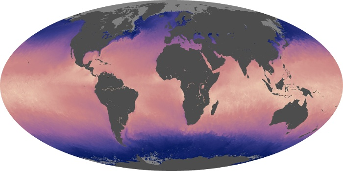 Global Map Sea Surface Temperature Image 163