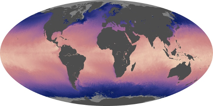 Global Map Sea Surface Temperature Image 165