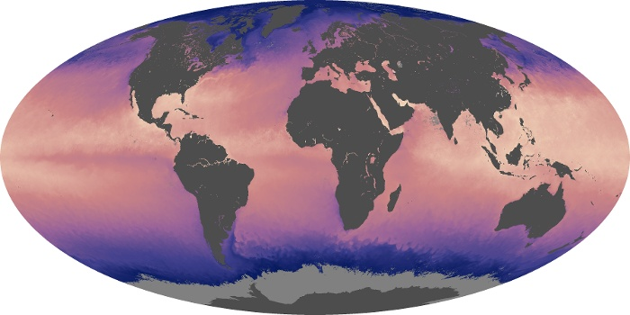 Global Map Sea Surface Temperature Image 169