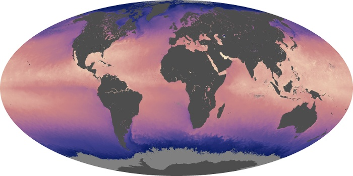 Global Map Sea Surface Temperature Image 170