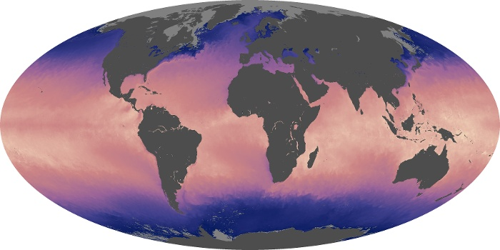 Global Map Sea Surface Temperature Image 176