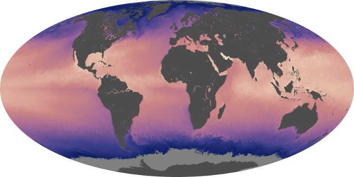 Global Map Sea Surface Temperature Image 181