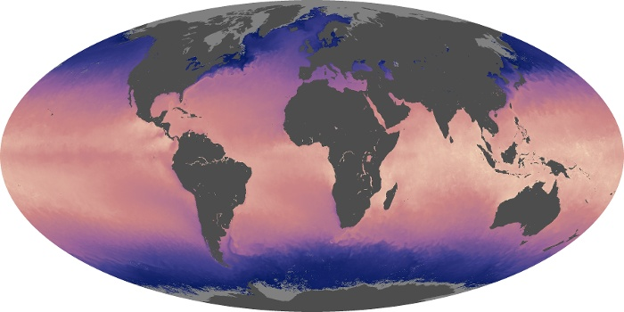 Global Map Sea Surface Temperature Image 189