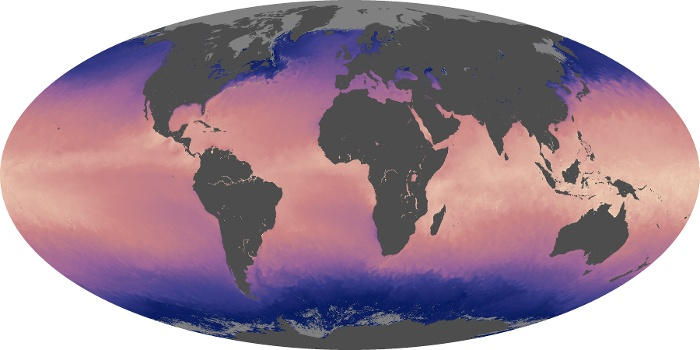 Global Map Sea Surface Temperature Image 198