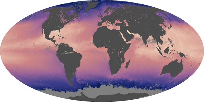 Global Map Sea Surface Temperature Image 218