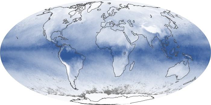 Global Map Water Vapor Image 35