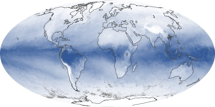 Global Map Water Vapor Image 94
