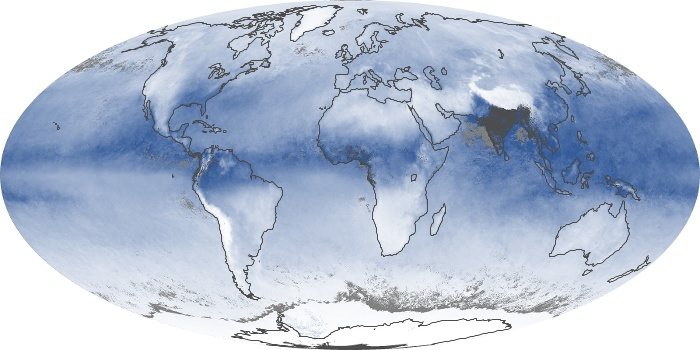 Global Map Water Vapor Image 139