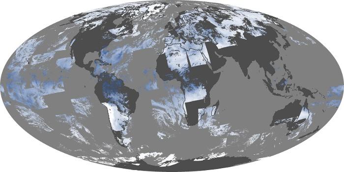 Global Map Water Vapor Image 228