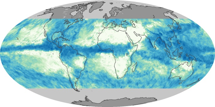 Global Map Total Rainfall Image 18