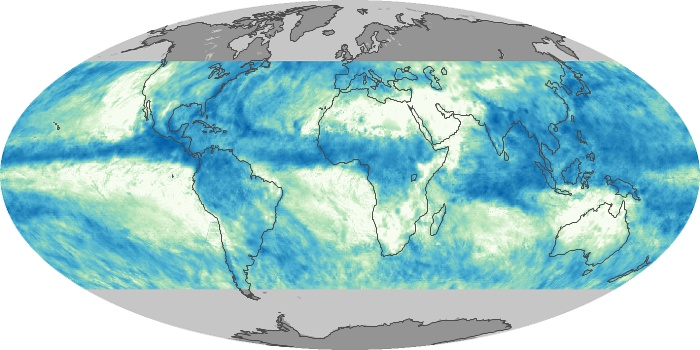 Global Map Total Rainfall Image 21