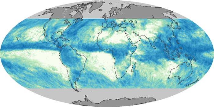 Global Map Total Rainfall Image 9