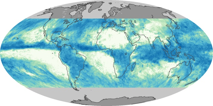 Global Map Total Rainfall Image 10