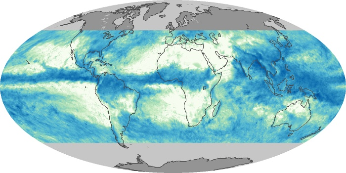 Global Map Total Rainfall Image 17