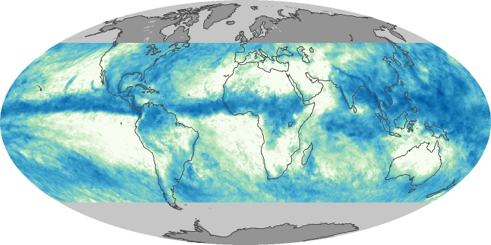 Global Map Total Rainfall Image 19
